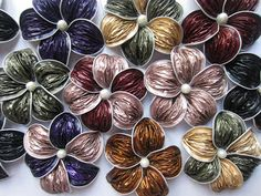 manualidadesisabel: Flores con capsulas nespresso