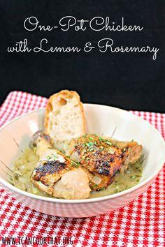 One-Pot Chicken with Lemon & Rosemary Recipe