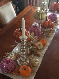 Baby girl pumpkin/fall themed shower