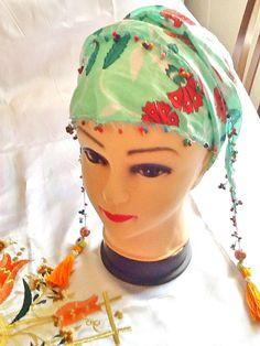 SALEGYPSY HEADBAND  Bohemian head scarf ethnic headband by Nezihe1