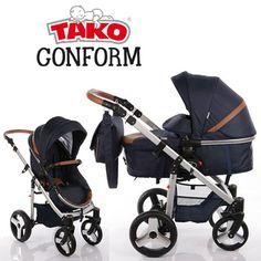 Tako Conform wózek z opcją 3w1 Prams, Baby Strollers, Children, Baby Things, Toddlers, Strollers, Baby Prams, Boys, Kids