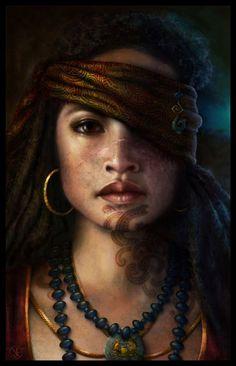 Digital Art | fantasticalwomen: www.artbynath.com