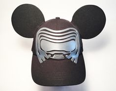 Kylo Ren Inspired Mickey Ear Hat. Since my great nephew wasn't about to wear a pair of Mickey Ears, I came up with an idea to create an ear hat based on his favorite Star Wars character. My DIY Mickey Ears by NMazzie.