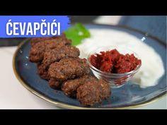 Cevapcici mit Tzaziki + Life Hack / einfach und schnell selber machen / Rindfleischröllchen Tzaziki - YouTube Ethnic Recipes, Youtube, Food, Ground Meat, Oven, Crickets, Diy, Cooking, Food Food