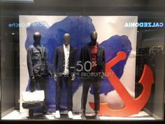 Vitrine Celio #Retail #Window #Display #Merchandising, pinned by Beausoleil France