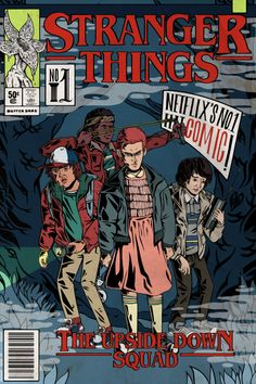 Comic Poster, Poster S, Poster Prints, Poster Wall, Comic Art, Stranger Things Fotos, Stranger Things Aesthetic, Stranger Things Netflix, Comic Book Covers