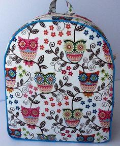 Toddler Backpack, Owl Backpack, $36.00, via Etsy