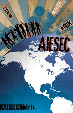 Simply #AIESEC. Who hasn't done it can't talk about it.