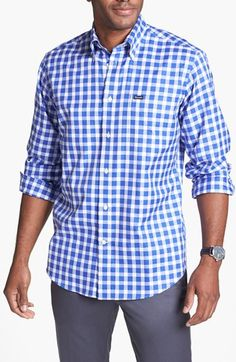 Facconable Large Gingham Check Shirt