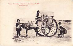Types de Caucase, No. 23 - Bakinskaia arba horse cart | Flickr - Photo Sharing!