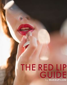 How to Pick the Perfect Red Lipstick