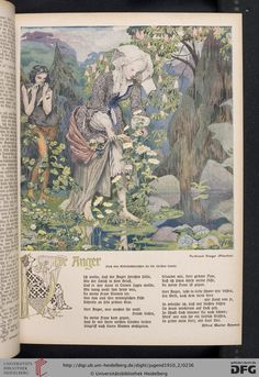 Jugend, German illustrated weekly magazine for art and life, Volume 15.2, 1910.