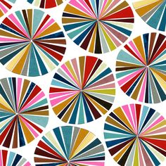 Fabric Patterns Pinwheel pattern, Ashley Barron - Visit the post for more. Geometric Pattern Design, Design Floral, Graphic Patterns, Surface Pattern Design, Art Design, Textile Patterns, Color Patterns, Print Patterns, Interior Design