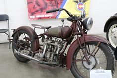 OldMotoDude: 1938 Indian Junior Scout on display at the 2018 De...