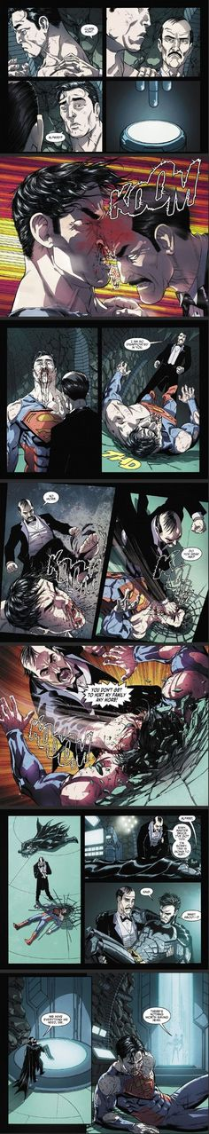 Don't mess with Alfred....He's amazing and super protective. Dammmnnn: