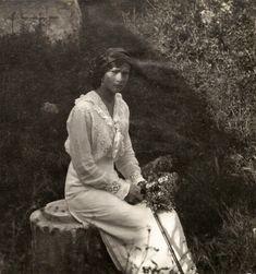 Tatiana at Oreanda - May 1914.