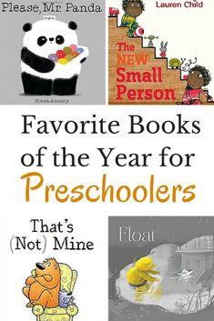 Our favorite books of the year for preschoolers!  Check out the newest books for kids in this fun book list.