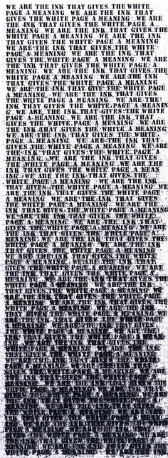 Collection Online | Glenn Ligon. Prisoner of Love #1. 1992 - Guggenheim Museum
