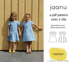 Straight Grain - Jaanu dress