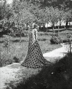 Emilie Flöge - Vienna-based fashion designer & close companion of Gustav Klimt.