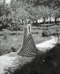 Emilie Flöge - Vienna-based fashion designer & close companion of Gustav Klimt.