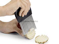 Cortador para patatas onduladas