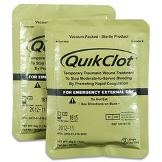 Package of Two Quick Clots