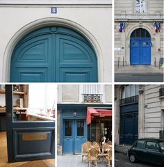 I plan to have our front door painted this weekend, looking for the right 'French Blue' #bluedoors