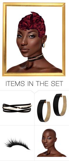 """Portrait"" by nusongbird ❤ liked on Polyvore featuring art"