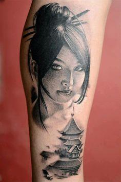 018a1a91b Ricky Tattoo di Riccardo Bottino, Monfalcone, Italy Realism Tattoo,  Gorgeous Tattoos, Geisha