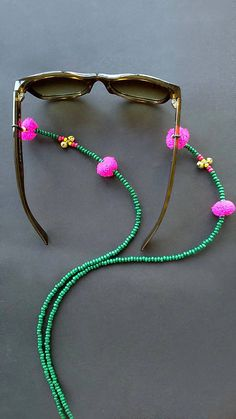 Sunglass chainEyeglass chaingreen sunglass stringboho