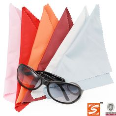 ◆SHUANGCHENG MICROFIBER◆: microfiber cleaning cloth, eyeglasses bags and other eyeglasses fittings