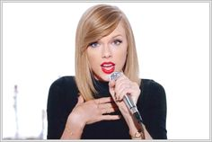 Taylor Swift Hair Bangs