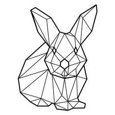 Geometric Png, Geometric Quilt, Geometric Drawing, Geometric Animal, Line Art, Easter Egg Designs, Paper Crafts Origami, Minimalist Business Cards, Animal Sketches
