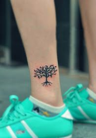 olive tree shoulder blade tattoo - Google Search
