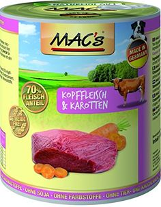 Aus der Kategorie Nassfutter  gibt es, zum Preis von EUR 11,97  MACs Dog Hühnchen & Cranberry - ein schmackhaftes Nassfutter aus Hühnchenfleisch