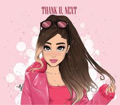 Image about girl in Dibujos🎨💓 by ॐ on We Heart It Ariana Grande Anime, Ariana Grande Photoshoot, Ariana Grande Cute, Ariana Grande Drawings, Ariana Grande Pictures, Ariana Grande Background, Ariana Grande Wallpaper, Girl Cartoon, Cartoon Art