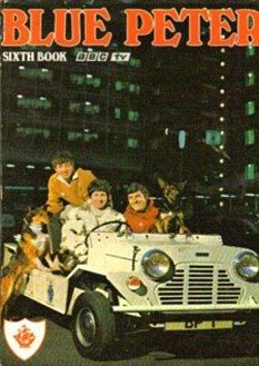 I remember having this Blue Peter annual - my aunt gave it to me. It had bleep & booster in it.