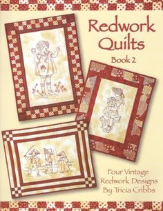 Redwork Quilts Book Two