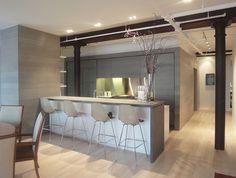 kitchen 1 - modern - kitchen - new york - Leone Design Studio
