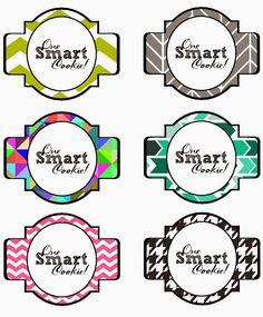 school smart labels template