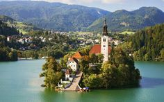 Wine And Wellness Slovenia Guided Cycling Tour in Slovenia and explore this exotic place. Get travel guides and plan your trip to Slovenia. Get best offers on your Slovenia Tour packages. Book Now! Funky Town, Austrian Airlines, Places To Travel, Places To Visit, Hallstatt, Lake Bled, Beaux Villages, Voyage Europe, Place Of Worship