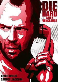 Die Hard alternative poster, made in Adobe ideas and Adobe illustrator