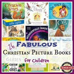 Looking for some fabulous Christian picture books for your children? Be sure to check out the picture books on this list! Christian Children's Books, Christian Kids, Books For Teens, Kid Books, Kids Reading, Reading Lists, Book Lists, Christian Classroom, Christian Parenting