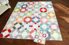 Love Patchwork Cheerio by Camille of Thimble Blossoms.