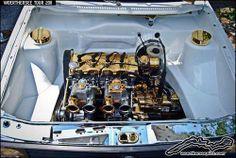 Plated. Vw Mk1, Volkswagen Caddy, Jetta A2, Vw Engine, Engineering, Golf, Bays, Panda, Heart