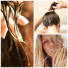Hair How-To: The Perfect Way to Air Dried Hair by Style Noted on Fashion Indie