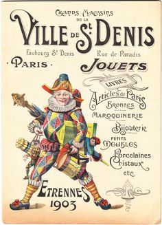 Catalog for a store in St. Denis from 1903 #Booktower