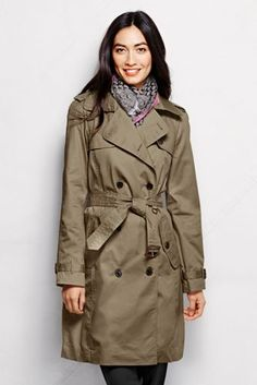 Women's Trench Coat from Lands' End