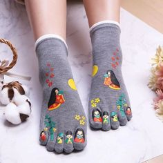 Cheap Socks, Unique Socks, Toe Socks, Aliexpress, Funny Gifts, Hosiery, Harajuku, Slippers, Kawaii